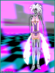 Wizzy (Wizaard Gynoid) (Tim Deschanel) Tags: life woman matrix tim code femme avatar betty sl exposition vision danish second gynoid deschanel wizzy tureaud wizaard