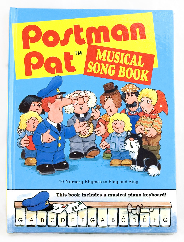 Postman Pat musical songbook