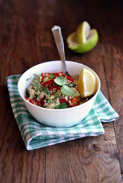 Insalata di quinoa e ratatouille2