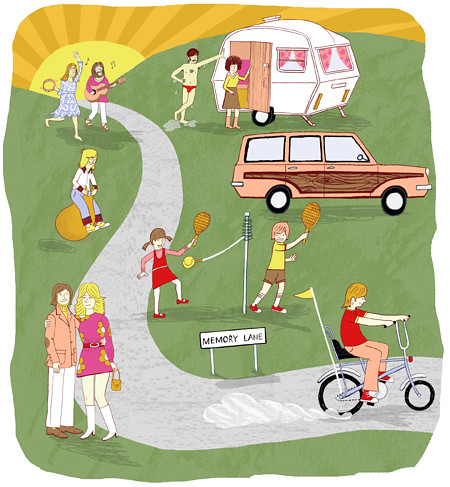 Caravan Club Magazine by ardillustration