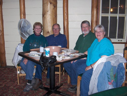 HPIM1902-Supper with Burkes at Lake Lodge in Yellowstone NP