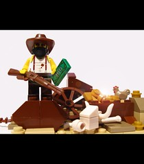 the wild west (felt_tip_felon) Tags: cowboy lego minifig brickwarriors