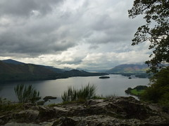 Surprise View Cloudy (BigGuy Photography) Tags: trees lake mountains water clouds surprise derwentwater keswick