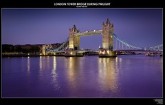 London Tower Bridge During Twilight (Victor Marz) Tags: longexposure bridge sunset panorama reflection london beautiful horizontal thames architecture towerbridge river twilight lowlight symbol landmark icon historic stunning sight riverthames highlight stitched marvelous magnificent waterscape londontowerbridge aftersunset historicarchitecture iconicsymbol tourisattraction