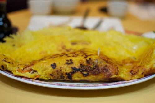 Meat pancake