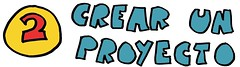 letrero 2 - crear un proyecto