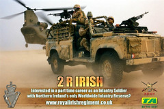 Royal Irish Regiment (CJW.90) Tags: b ireland irish afghanistan infantry advertising poster army war tank desert time 1st air tag iraq rifle ad royal first assault line full 2nd company helicopter part website camouflage weapon sniper advert second catch british 16 phrase northern weaponry recruitment brigade territorial regiment recruit a battallion