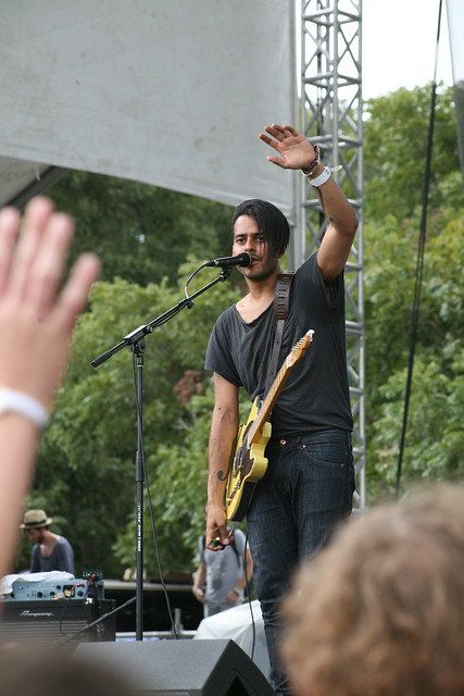 Twin Shadow at Austin City Limits 2011