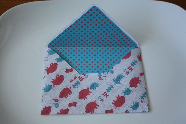 handmade stationery envelopes
