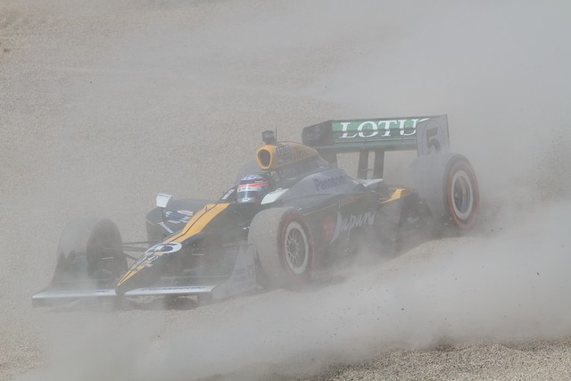 Takuma Sato Runoff