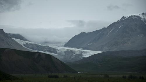 Gulkana Glacier and Valley