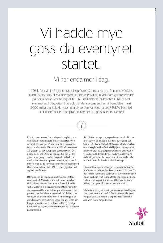 Statoil ASA_Gasseventyret