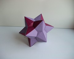 Small Stellated Triacontahedron (mancinerie) Tags: origami paperfolding modularorigami