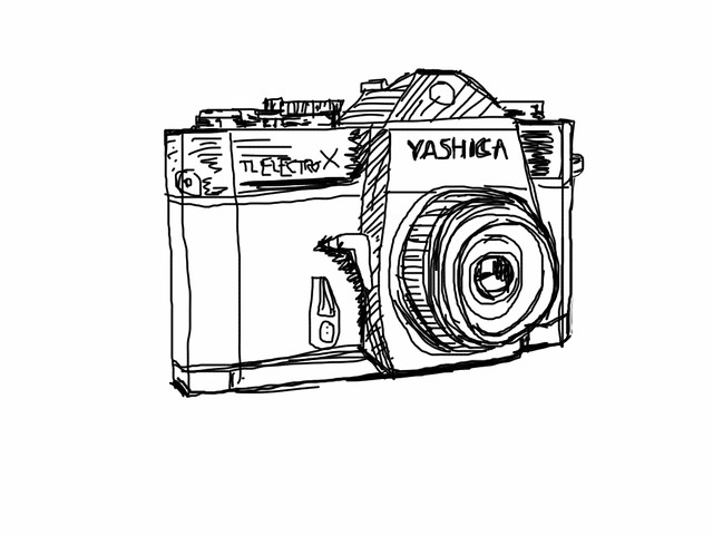 Digital crapstyle camera