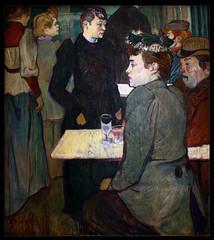 """Henri de Toulouse-Lautrec. Un rincn del Moulin de la Galette. 1892 (""""GALBA"""") Tags: paris interior montmartre toulouselautrec lautrec henridetoulouselautrec moulindelagalette saladebaile sallededanse gonzlezalba"""