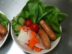 朝食サラダ(2011/9/21)