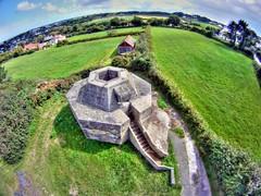 Wurzburg Radar Installation, Guernsey (Ningaloo.) Tags: world 2 two st photography war aerial pole german installation ww2 wurzburg defence guernsey pap radar batterie saviour mirus