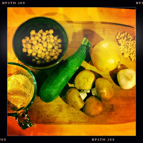Quinoa Pilaf ingredients