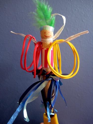 how to make a peg doll circus