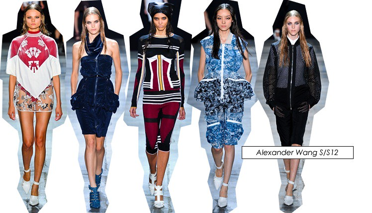 new york fashion week alexander wang ss12 2012 collection