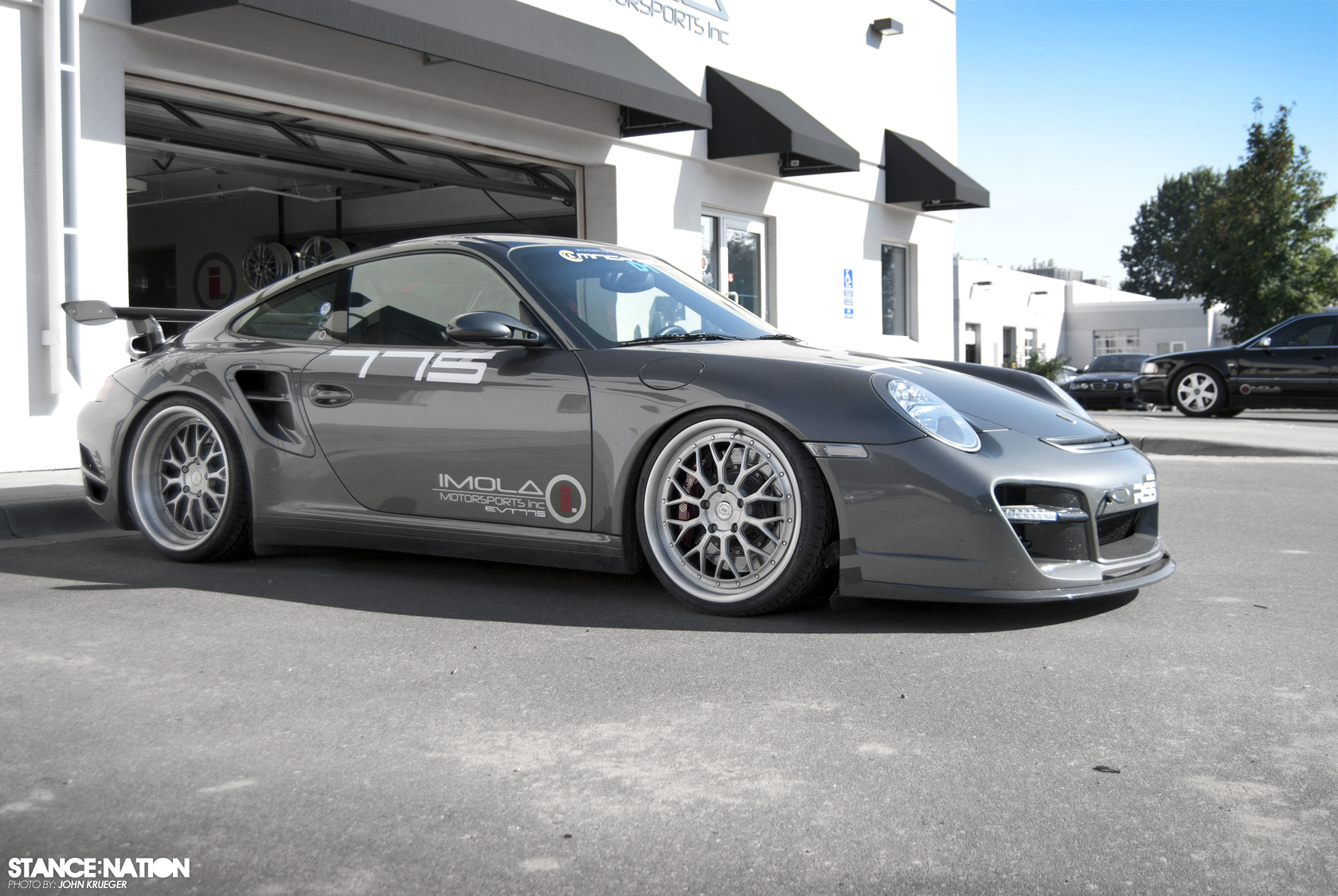 Imola Motorsports Porsche 997 Turbo Stancenation