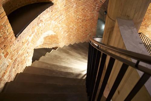 Going Down Stairs at Deutscher Dom