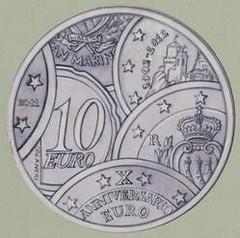 San Marino 10 year euro