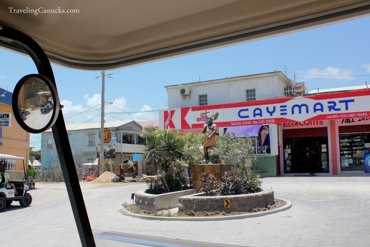 Caye Mart in San Pedro, Ambergris Caye