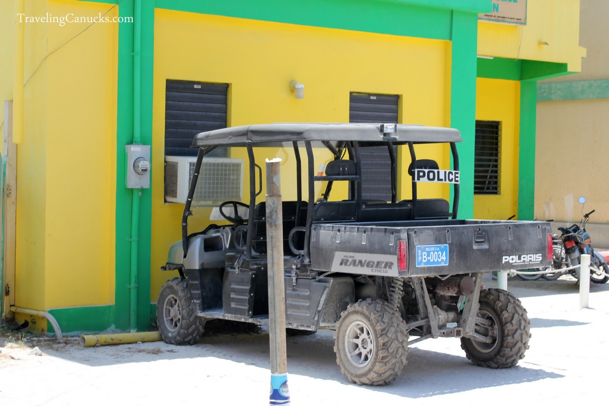 Police Car - San Pedro, Ambergris Caye