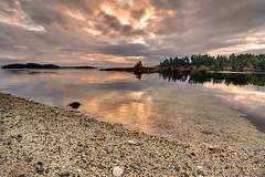 Alone With Heaven, Nature and God (Northern Straits Photo) Tags: canada sunrise nikon bc britishcolumbia victoria vancouverisland sidney d700 secretbeaches northernstraitsphotography