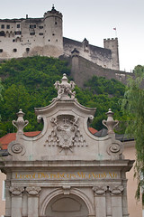 "Hohensalzburg on the Hill • <a style=""font-size:0.8em;"" href=""http://www.flickr.com/photos/55747300@N00/6171133372/"" target=""_blank"">View on Flickr</a>"