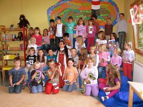 BuchLese in der Grundschule