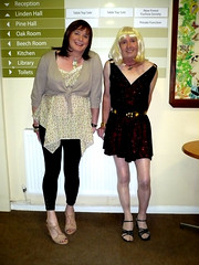 Petrina & Catriona, Lyndhurst, 29.06.11, 001 (catrionatv) Tags: