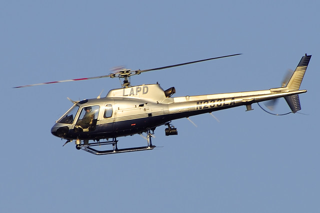 Los Angeles Police (LAPD) 2000 Eurocopter AS 350 B2