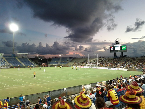 ft. Lauderdale strikers versus Atlanta Silverbacks