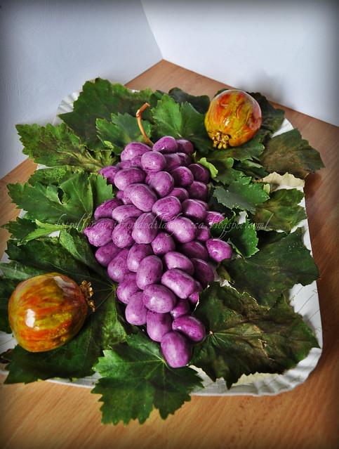 Grappolo d'uva e Melograni