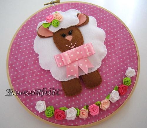 ♥♥♥ Méeméeee... para meninas fofinhas!! by sweetfelt \ ideias em feltro