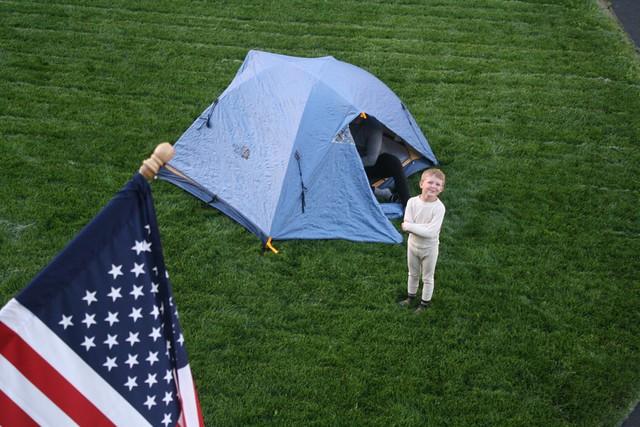 Yard Camping