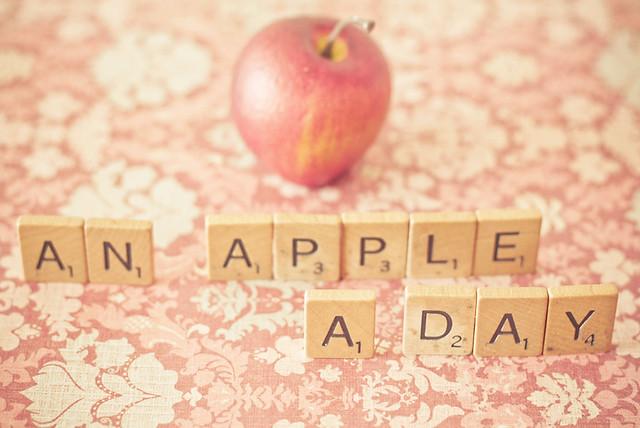 An Apple A Day by JoyHey, on Flickr