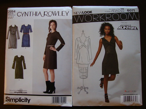 new simplicity patterns I bought today