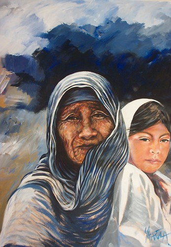 Seri Woman - Painting - Realism