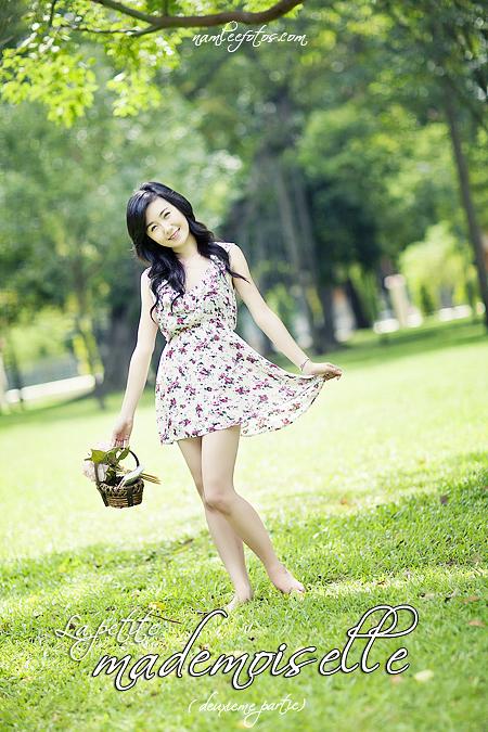 chụp ảnh chân dung - model Nhã Khanh