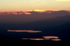 Fine del giorno... (Tomasso81) Tags: light sunset summer lake colors lago nikon tramonto estate gimp valle colori d90 imagna pertus