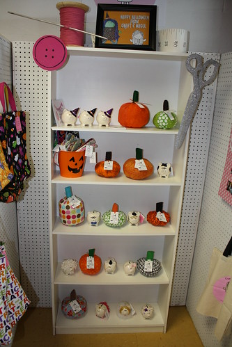 Halloween items at Unique Creations gift shop