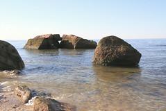 Split Rock and Other Glacial Erratics (sandy richard) Tags: geology wildwood wildwoodstatepark newyorkstateparks longislandbeaches sandyrichard longislandgeology sandrarichard wildwoodstateparkgeology