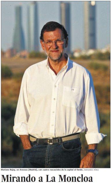 11i25 EPaís Portada con Rajoy