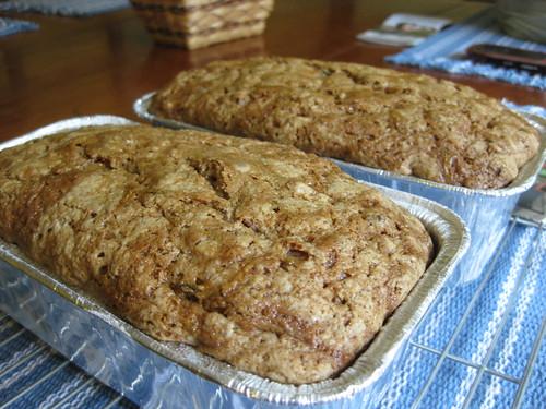 Summer = zucchini bread