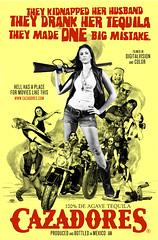 Cazadores Tequila (Lena Abujbara) Tags: ads movie advertising poster fight gun ad tequila alcohol motorcycle campaign bikers cazadores bikerchick bmovie tylerjensen lenaabujbara