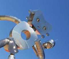 The Traveling Man (WarEagle8608) Tags: city urban sculpture streetart art statue robot dallas texas tx deep publicart dart deepellum ellum dallastx dallastexas eoskissx4 canoneos550d eos550d canoneosrebelt2i rebelt2i canoneoskissx4 eosrebelt2i robotstatue deepellumgateway