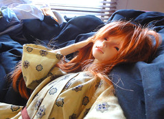 Callboy (Lilly Kitten) Tags: sleeping eyes ranger ns dreaming redhead elf bjd freckles resin luts wynn delf fairyland modded balljointeddoll ssd shiwoo normalskin feeple
